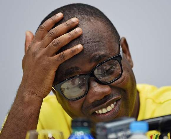 Ghana FA president Kwesi Nyantakyi.