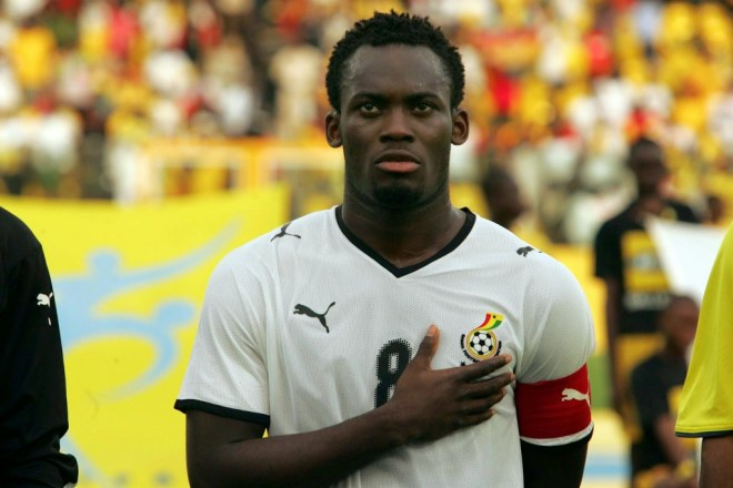 Although he missed two World Cups due to injury, Michael Essien still helped Ghana  reach the second round in 2006.