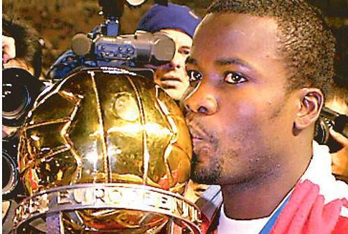 A World Cup, four ACON tournaments, and a slew of hardware with Bayern Munich  make Samuel Kuffour a shoe-in for our list.