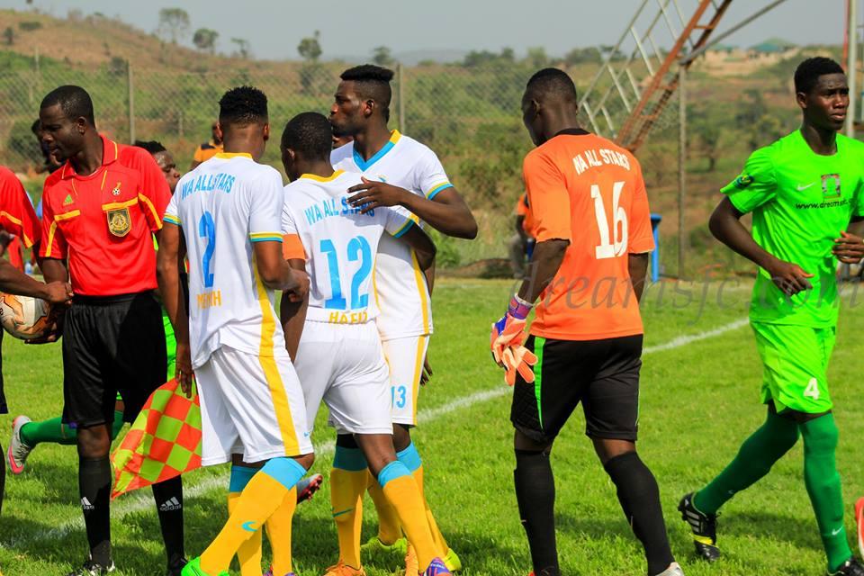 Match Report Wa All Stars 1 0 Ebusua Dwarfs Kofi Yeboah