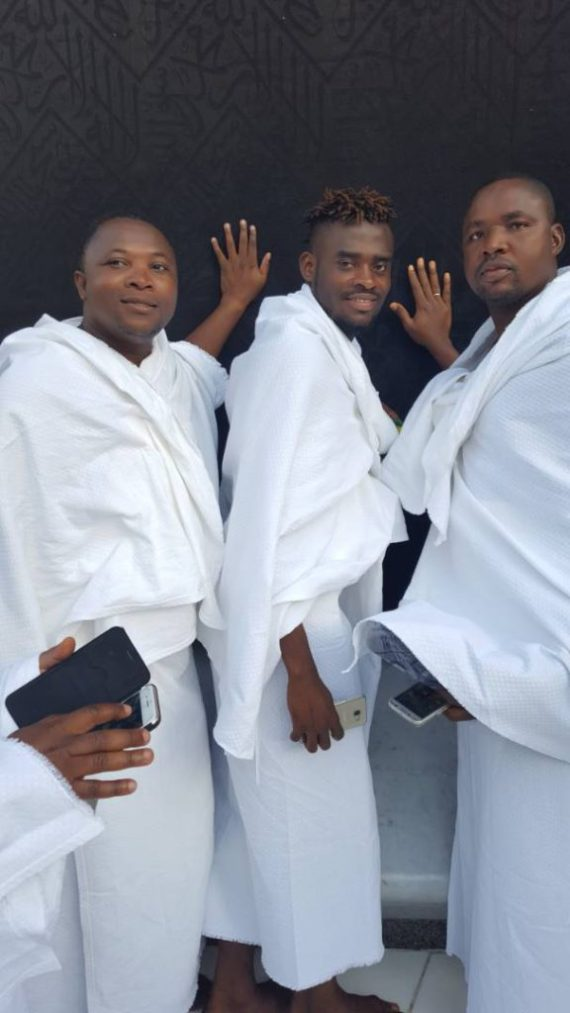 ghana football team doing umrah 2017