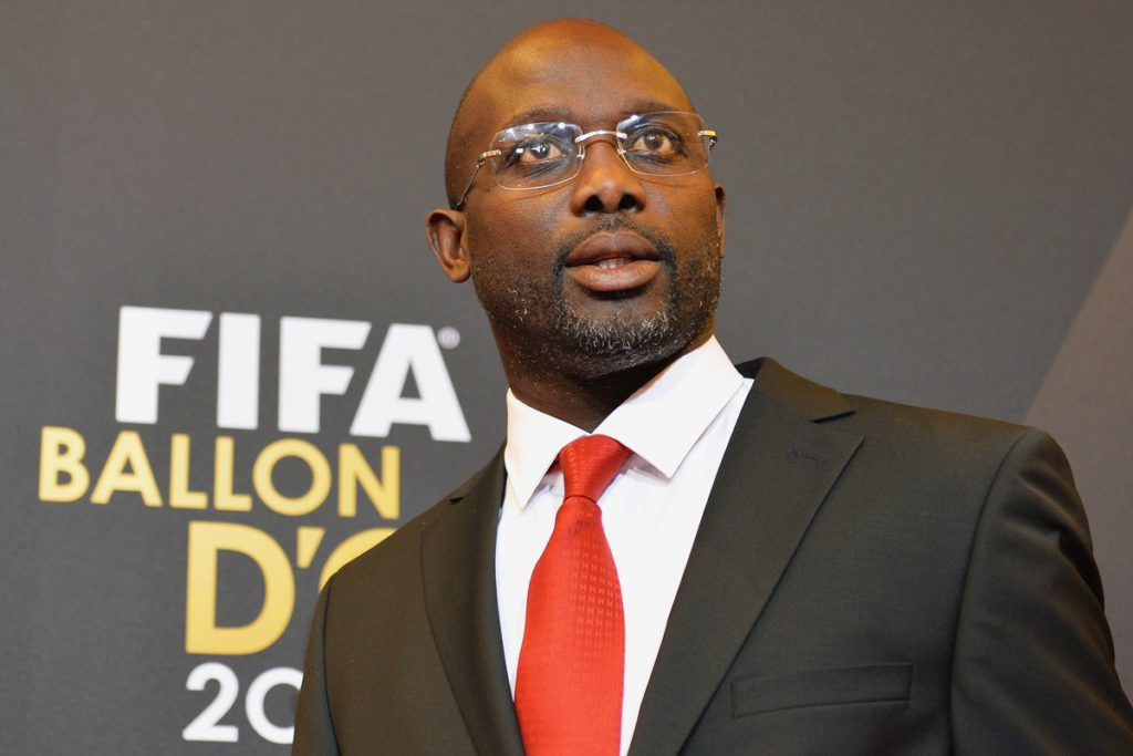 Former Ballon d'Or winner George Weah is new President of Liberia- reports - Ghana Latest Football News, Live Scores, Results - GHANAsoccernet