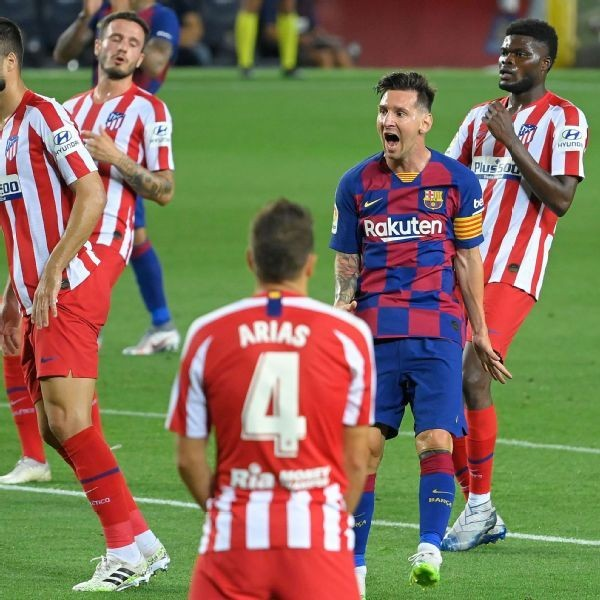 Messi scores No. 700 but Barca drop more points - Ghana Latest ...