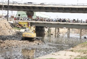 He bemoaned the country's continuous expenditure on desilting drains to avoid flooding