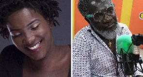Startbwoy Kwarteng (R) and late Ebony