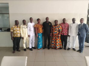 Members of the Golden Purse Movement in a group photo
