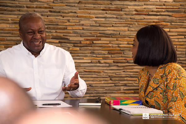 We don't hate the EC – Mahama
