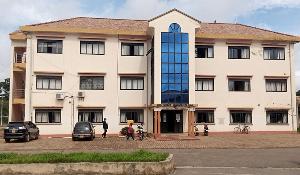 A photo of Gulu district administrative building