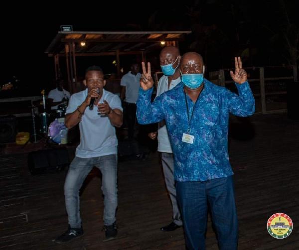 Photos: MPs defy Akufo-Addo's directive to organise a party at Aqua Safari 8