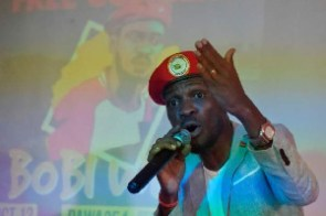 Bobi Wine, Ugandan politician and musician