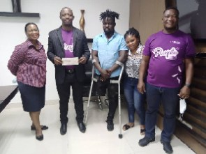 Ghana's Female Amputee Team has received a major financial boost from Star Life Assurance