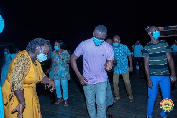 Photos: MPs defy Akufo-Addo's directive to organise a party at Aqua Safari 14