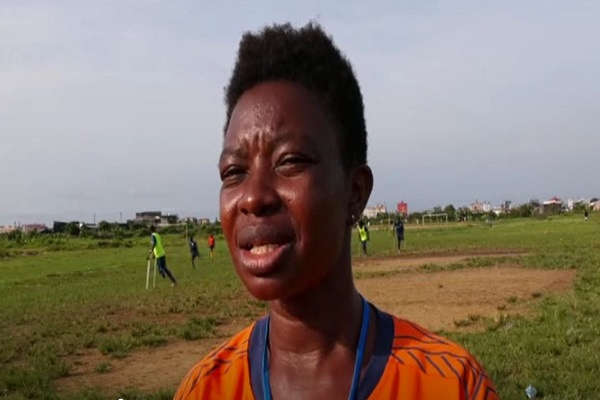 Cameroonian female football coach mentors men amputee players