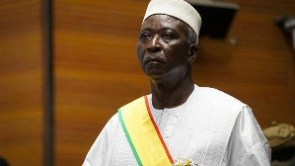 Mali's now former president, Bah Ndaw