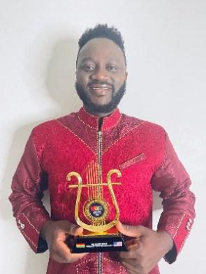 Humphrey Tettey has won Best Male Vocalist of the Year