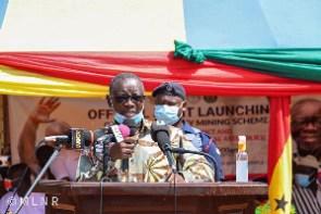 Kweku Asomah-Cheremeh, minister of lands and natural resource