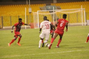 Asante Kotoko were held to a 1-1 draw by Eleven Wonders at the Accra Sports Stadium