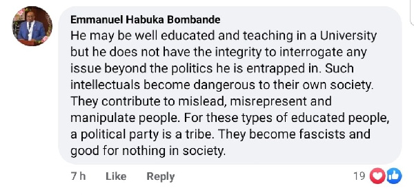 You're a dangerous good-for-nothing fascist – Bombande attacks Poku Edusei says he lacks integrity. 6
