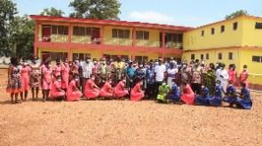 Some students and teachers of Navrongo Senior High School