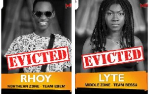 Lyte and Rhoy have been evicted from the show