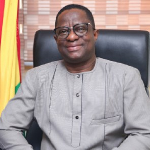 John Peter Amewu, MP-elect for the Hohoe Constituency