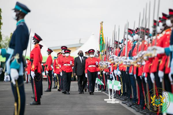 'Gov't will continue to expand, modernise Armed Forces' – Akufo-Addo