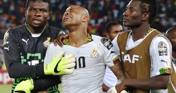 Andre Ayew ruled out of Sudan game
