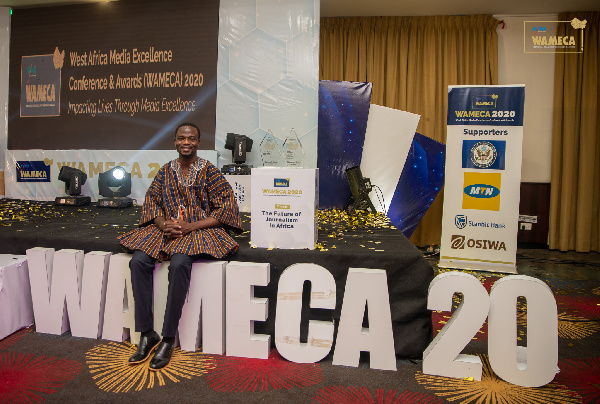 Manasseh Azure Awuni emerges West African Journalist of the Year