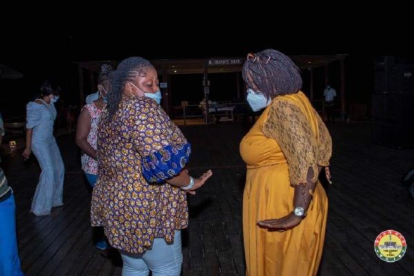 Photos: MPs defy Akufo-Addo's directive to organise a party at Aqua Safari 13
