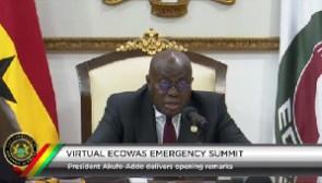 ECOWAS Chairman, President Nana Addo Dankwa Akufo-Addo