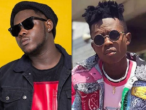 Rappers Medikal and Strongman Burner