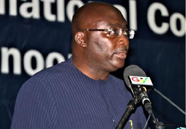 Bawumia implores media to highlight Ghana Card, NHIS Card integration