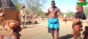 Vlogger, Wode Maya visited the Hima tribe of Namibia