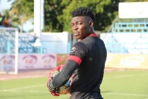 Asante Kotoko goalkeeper Razak Abalora