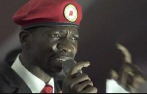 Uganda's opposition presidential candidate, Bobi Wine