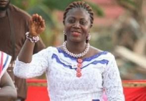 Ama Sey, MP, Akwatia