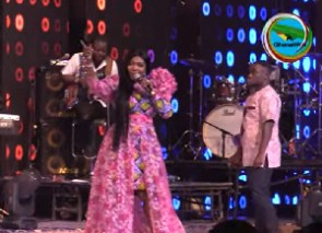 Florence Obinim performed at the 2021 Women in Worship