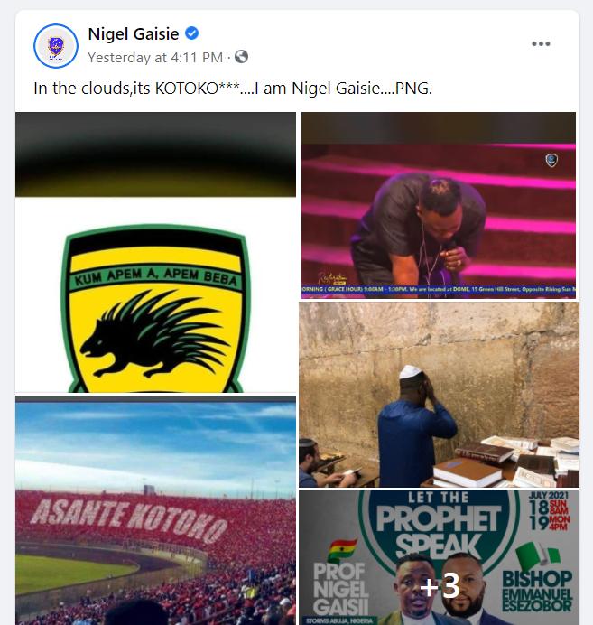 Nigel Gaisie's prophecy fails as Hearts beat Kotoko in Super Clash 1