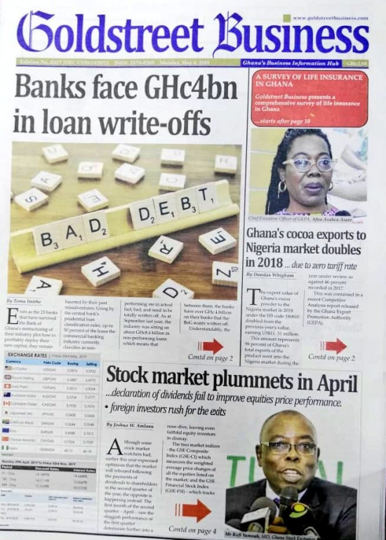 Newspaper Headlines of Monday, 6 May 2019 (PHOTOS) 3