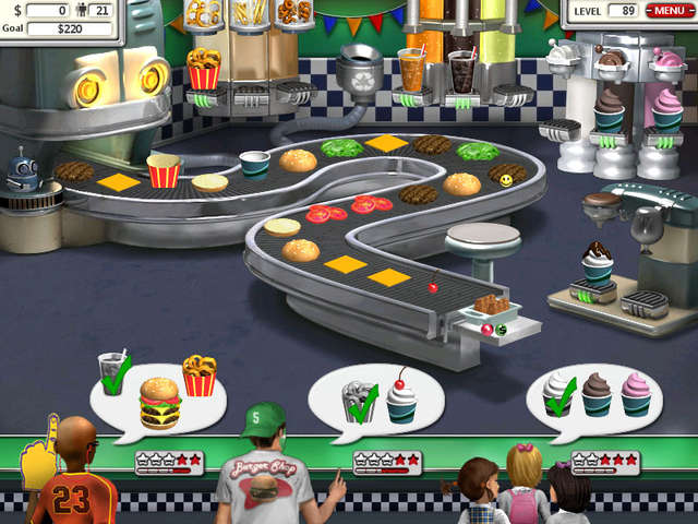 Burger Restaurant Games 2