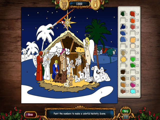 Christmas Wonderland 5   GameHouse Christmas Wonderland 5 features