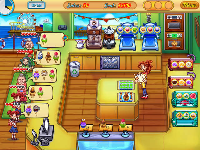 Jessica's Cupcake Cafe Online Free Game
