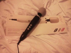 behold the formidable power of the doxy massager, which is to wanking what Einstein was to physics