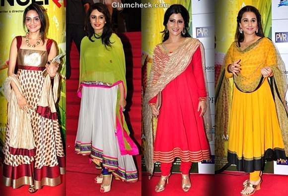 anarkali suits dussehra 2012