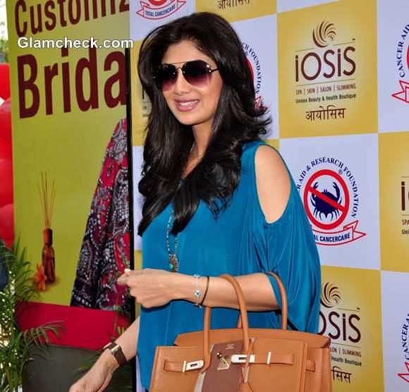 Shilpa Shetty In A Cut Out Silhouette At An Event In Mumbai