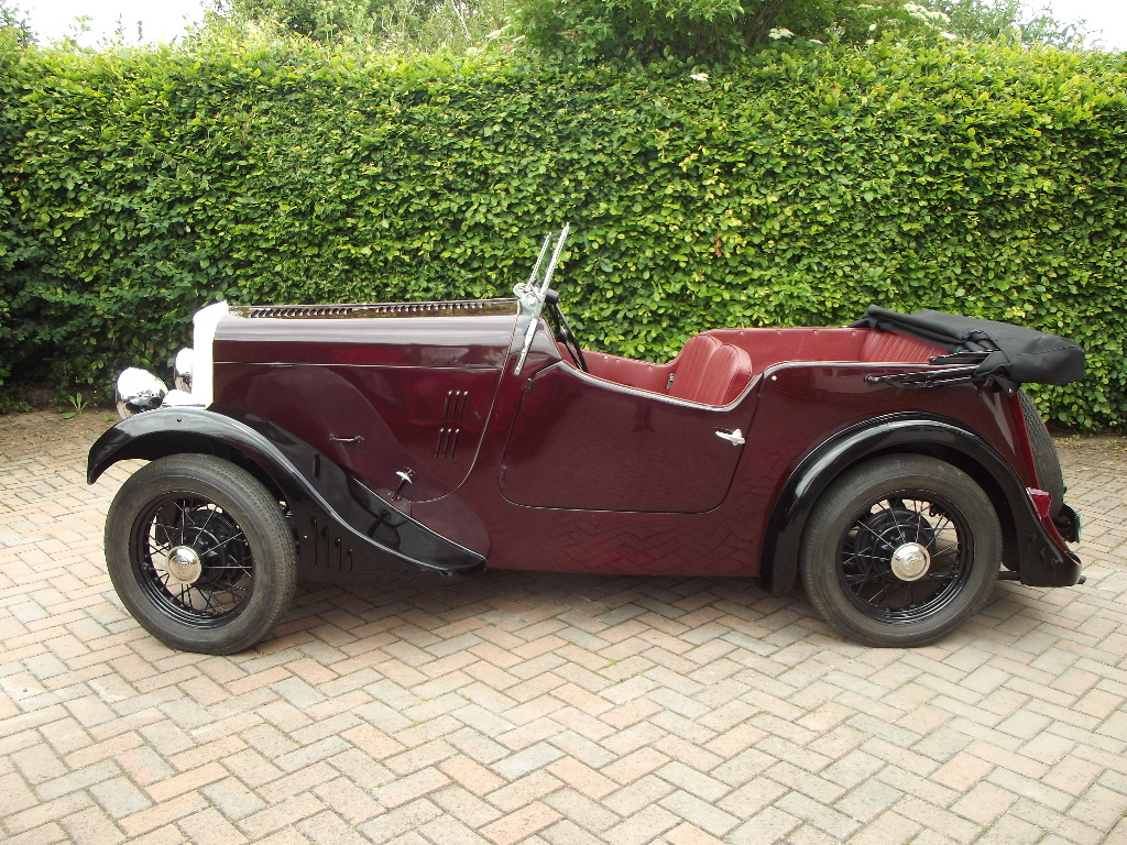A 1934 Ford Model Y Alpine Tourer Registration Number Jt