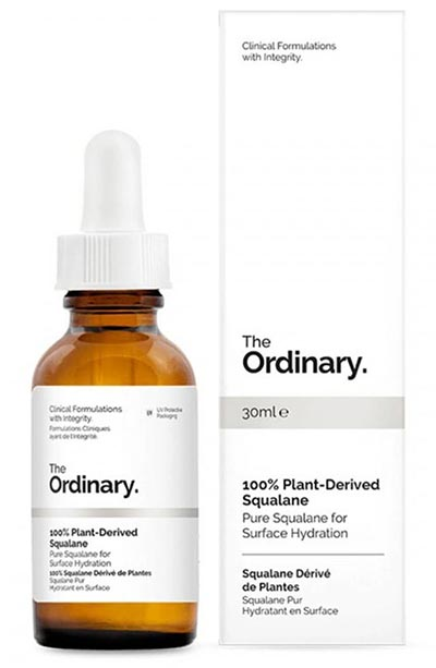 Best Squalane Oils for Skin Care: The Ordinary 100% Plant Derived Squalane