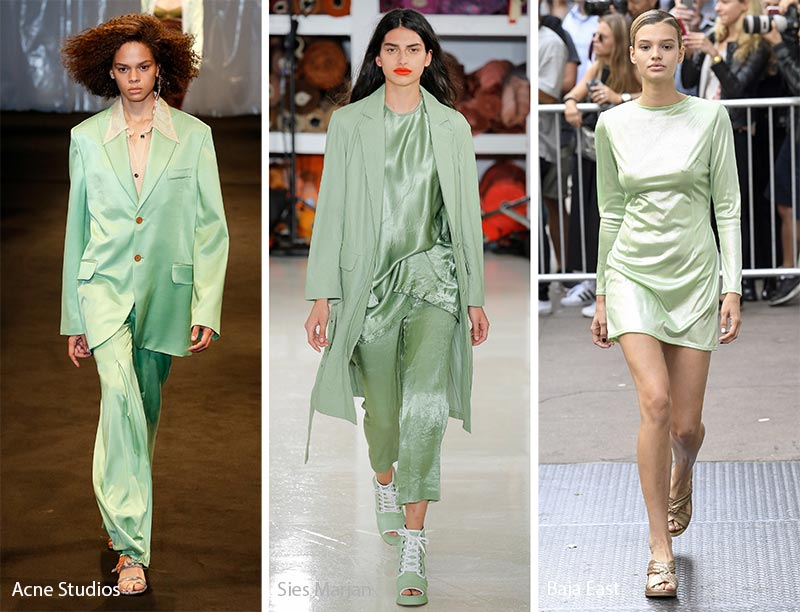 Spring/ Summer 2018 Color Trends: Nile Green