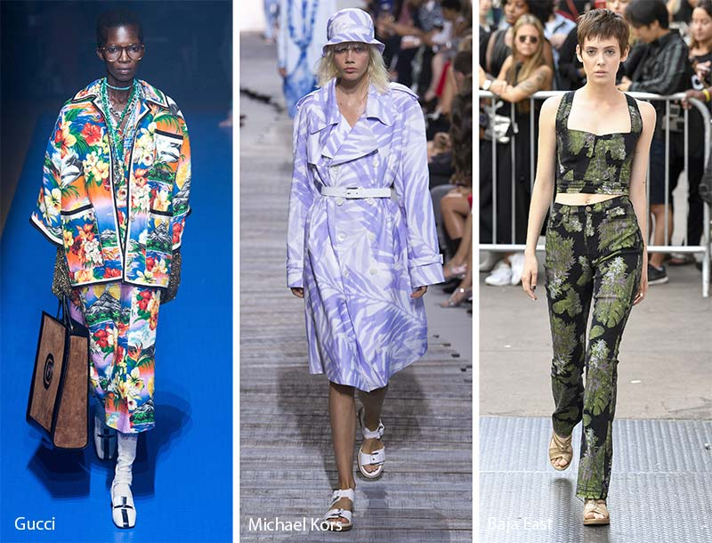 Spring/ Summer 2018 Print Trends: Tropical Patterns