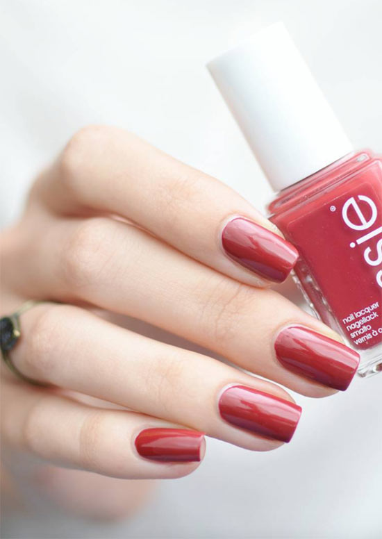 11 Best Red Nail Polishes For Every Skin Tone Red Nail Tips Tricks